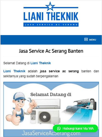 Portofolio jasa pembuatan web service ac