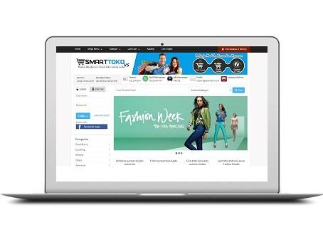 Demo jasa pembuatan toko online murah