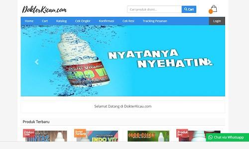 Portofolio jasa pembuatan website toko online terbaik