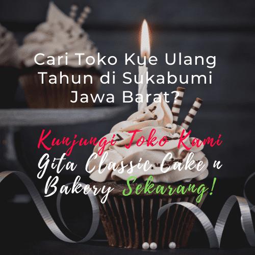 Toko kue ulang tahun di Sukabumi